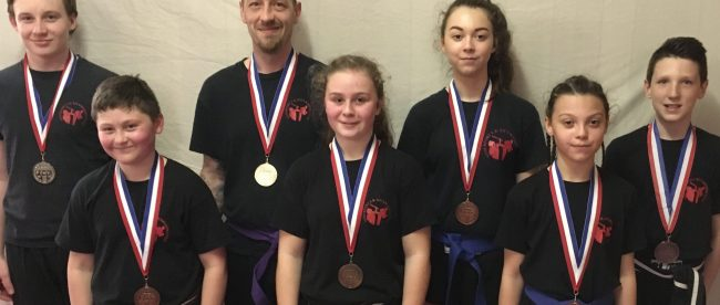 Stourport kickboxers are fighting their way to the top - Wolf Reporter